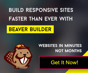Get Beaver Builder Now! This is an affiliate links. See our full disclosure.